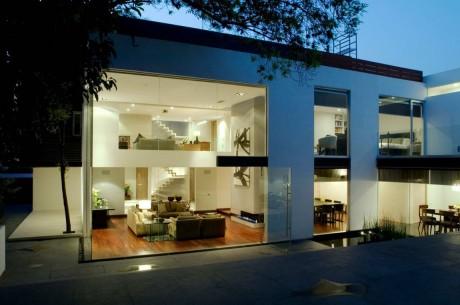 Стеклянный дом в Мексике
