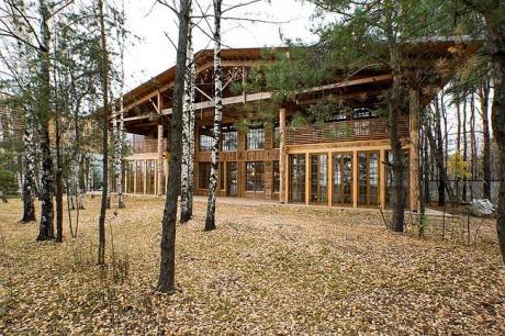 Деревянный дом в России 3