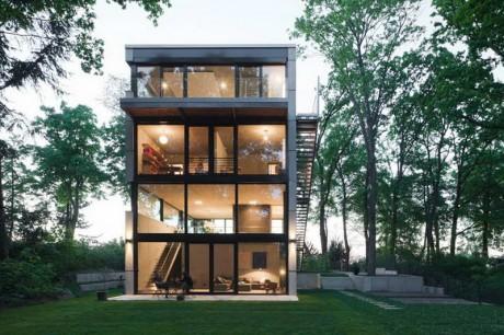 Стеклянный дом в Германии 2