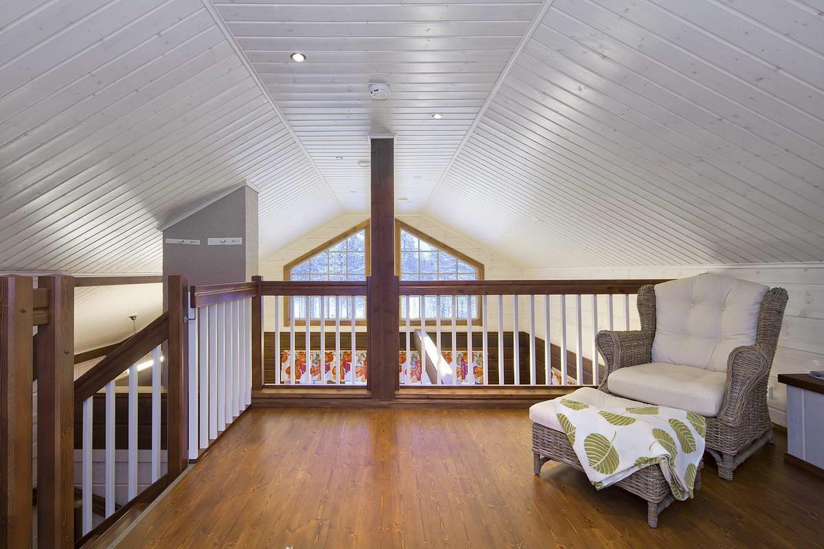 Интерьер второй этаж деревянного дома
