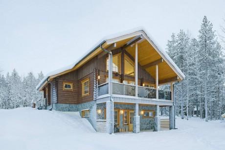 Деревянный дом в Финляндии