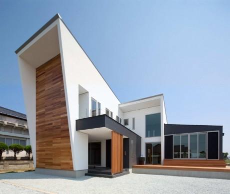 Городской дом в Японии 43