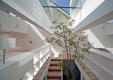 Дом с садом в Японии