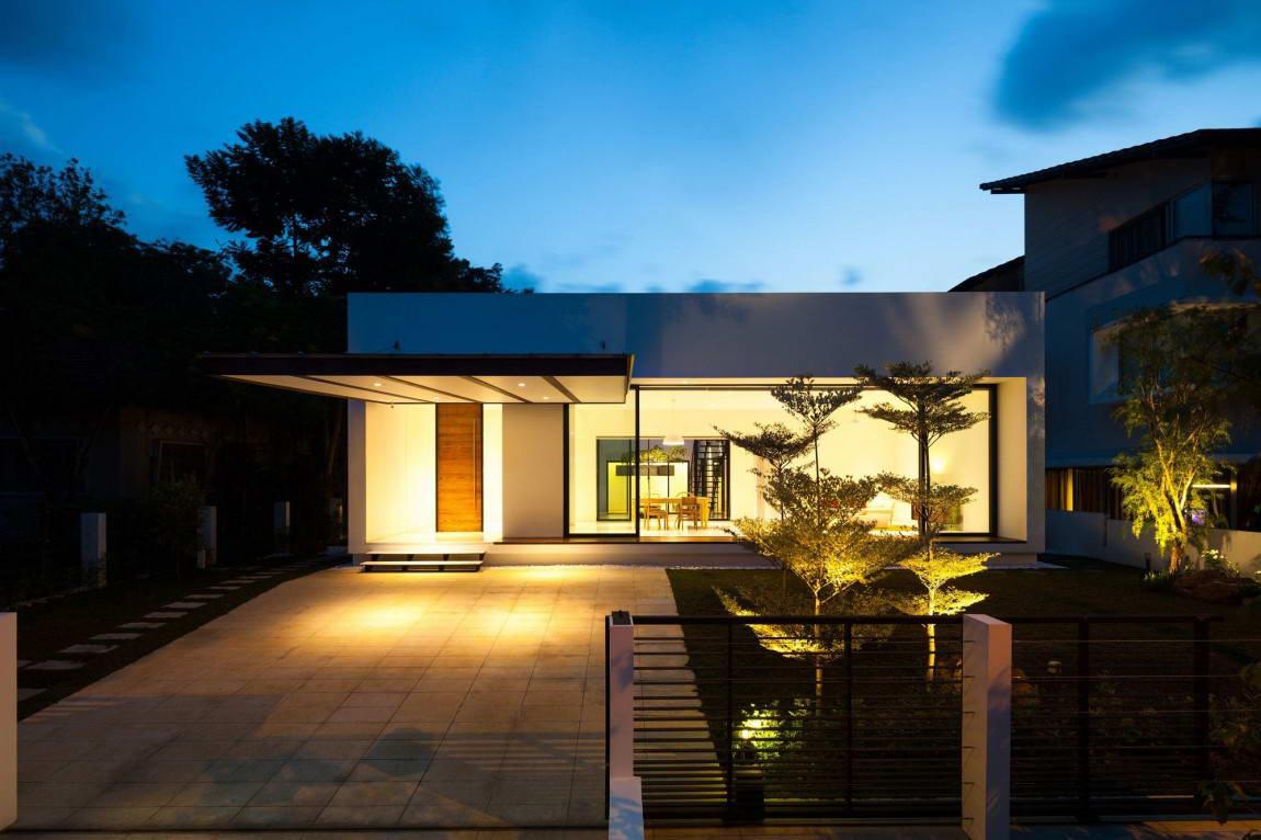 Дизайны домов металлическим сайдингом