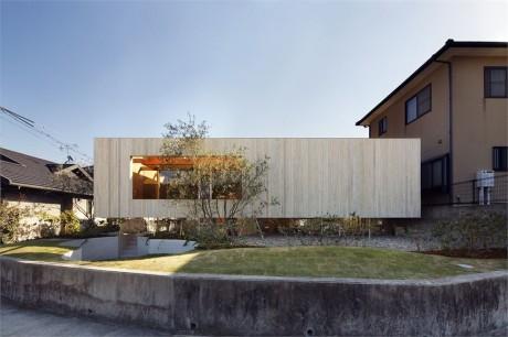 Дом с ландшафтом в Японии