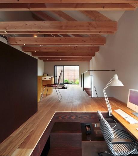 Городской дом в Японии 42