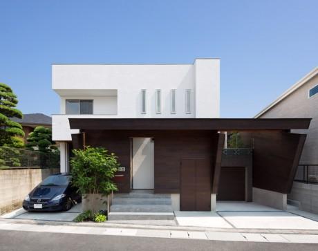 Городской дом в Японии 44