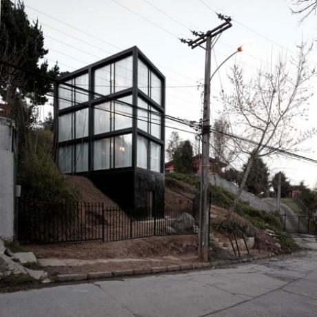 Стеклянный дом в Чили 2