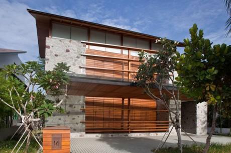 Дом на берегу в Сингапуре
