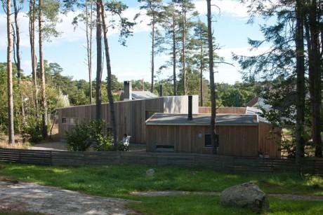 Дом со двором в Норвегии