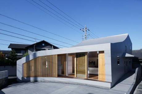 Городской дом в Японии 48