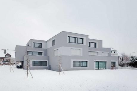 Шестиквартирный дом в Швейцарии