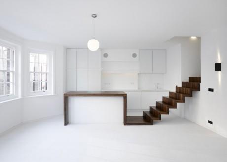Реконструкция квартиры в Англии