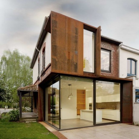Расширение дома в Бельгии 2
