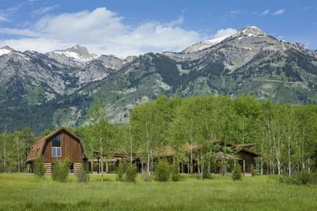 Лесной дом в США 16