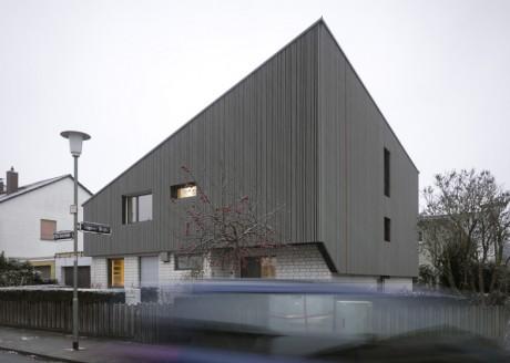 Расширение дома в Германии