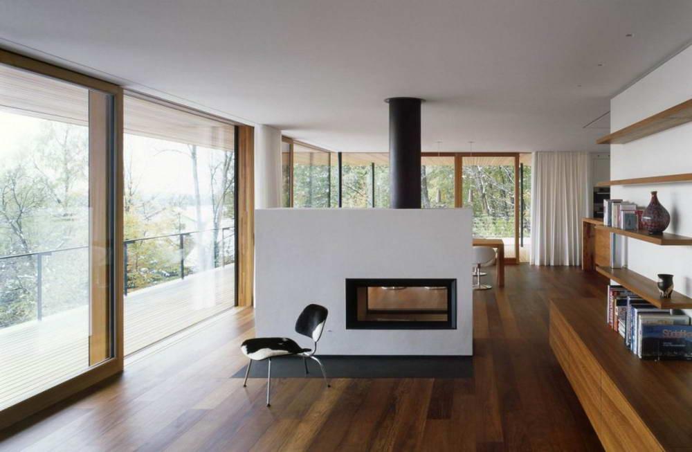 Moderne Luxus Kamine | Möbelideen Wohnzimmer Modern Kamin