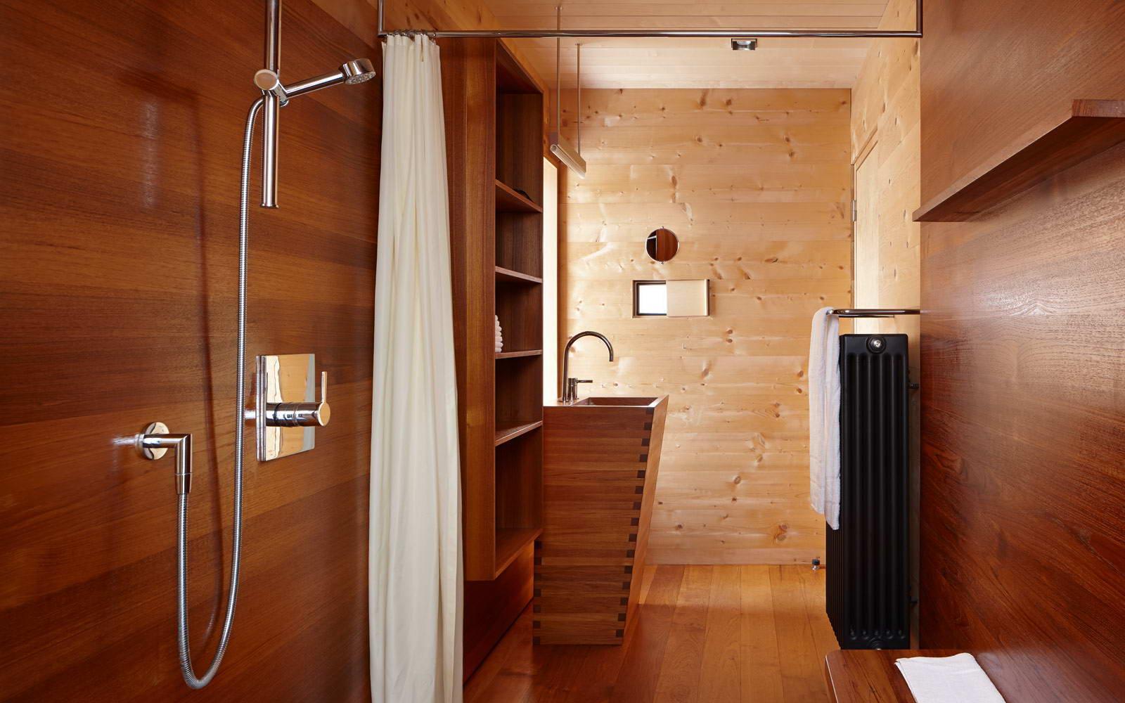 Как сделать ванная комната в деревянном доме своими руками