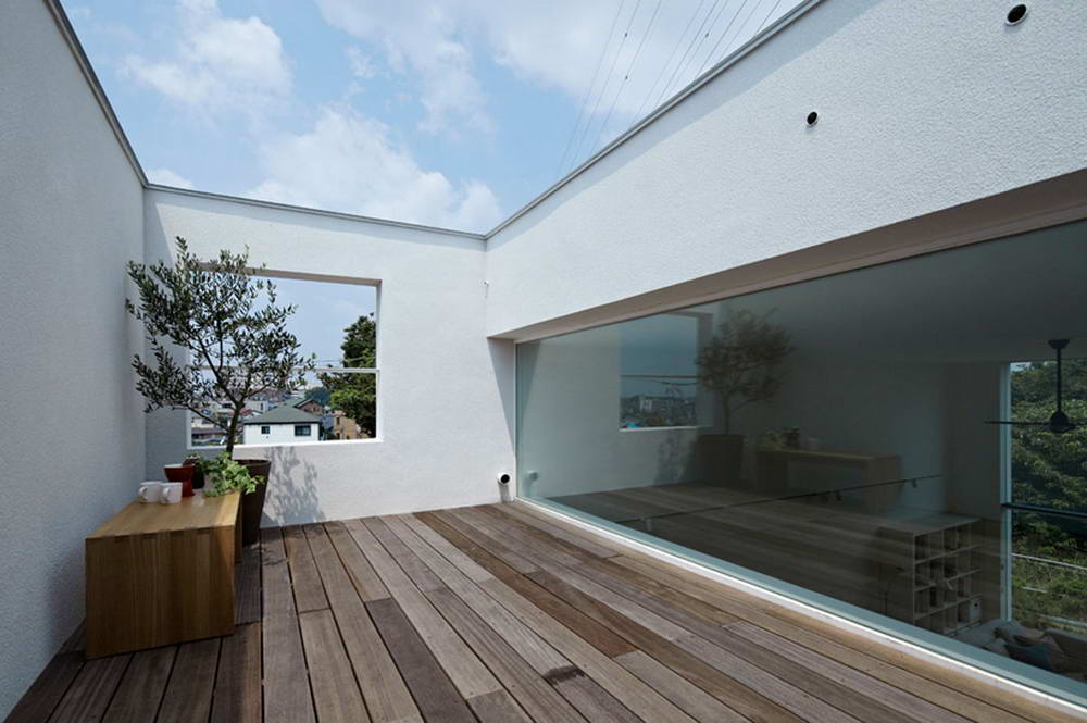 The way compact japanese house