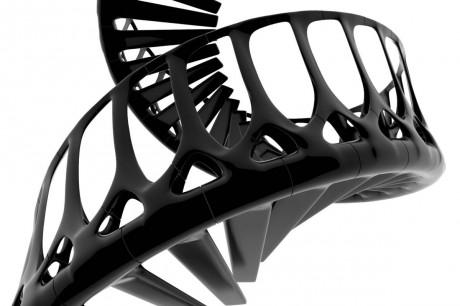 Концепт спиральной лестницы