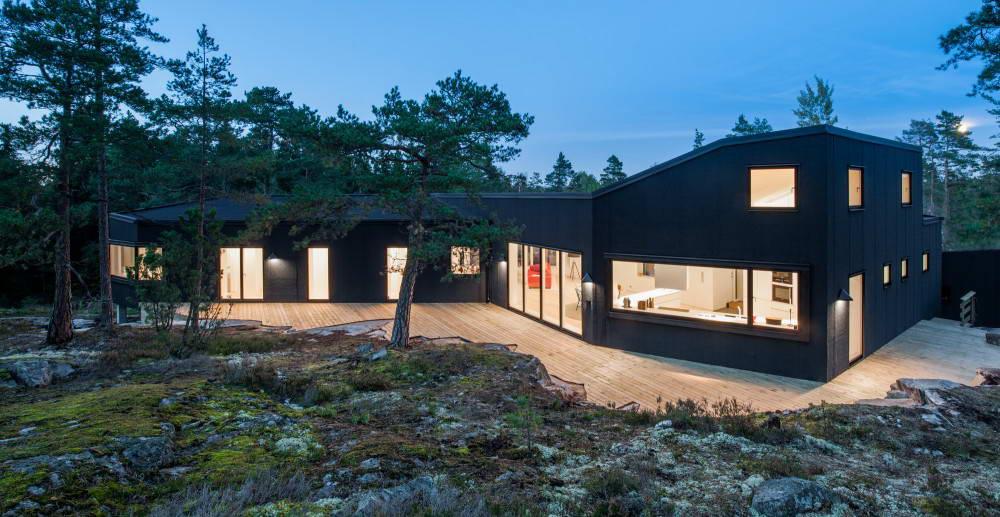 Частный дом дизайн внутри фото