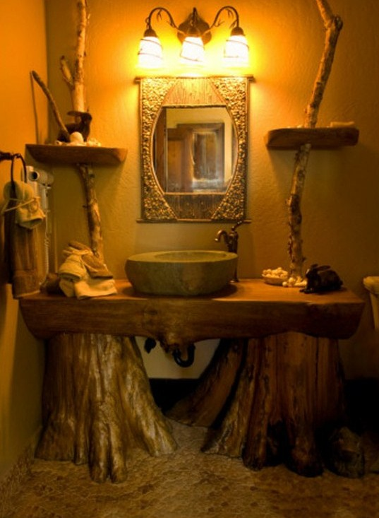 75 Most Popular Rustic Bathroom Design Ideas for 2019