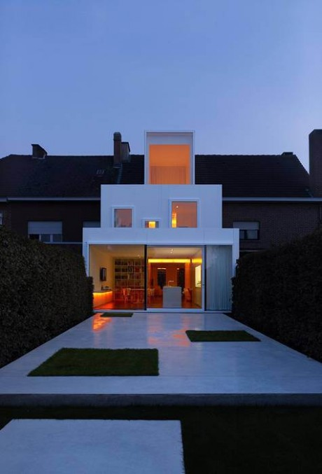 Реконструкция дома в Бельгии 3