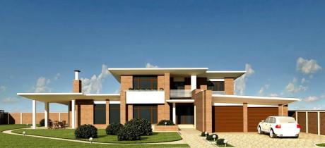Проект кирпичного дома