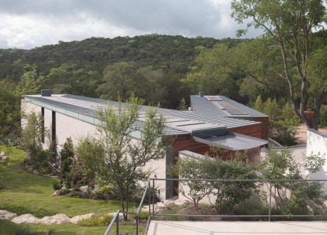 Проект одноэтажной загородной виллы в США