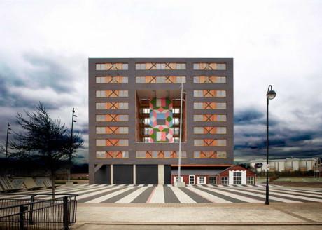Проект современного многоквартирного дома в Англии