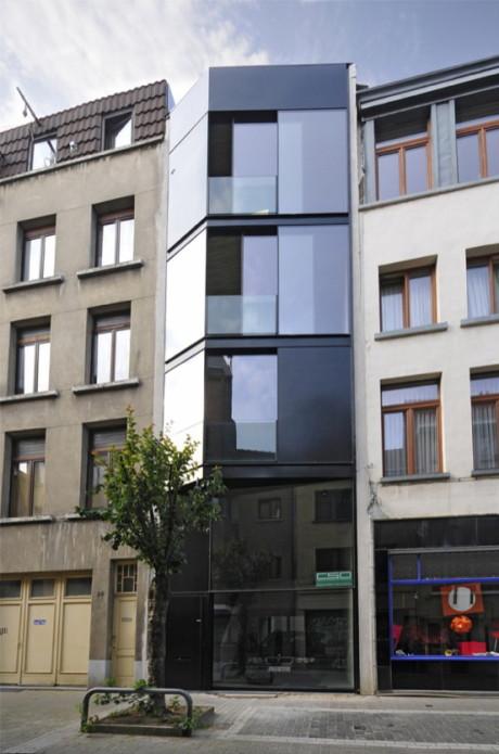 Дом для Crepain и Spaens (Crepain Spaens House) в Бельгии CSD Architecten.