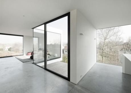 Современный частный интерьер в Бельгии