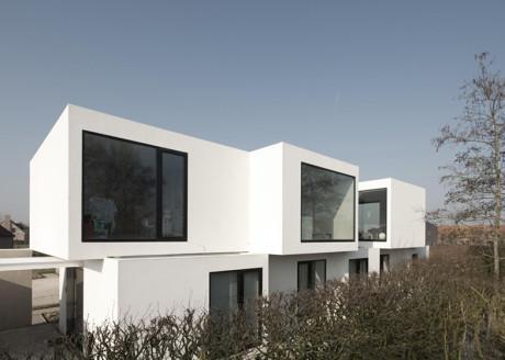 Современный частный дом в Бельгии