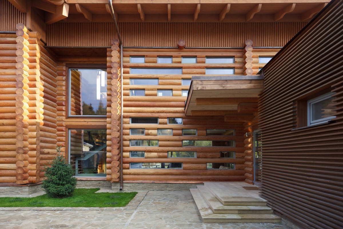 Бревенчатые дома дизайн и архитектура