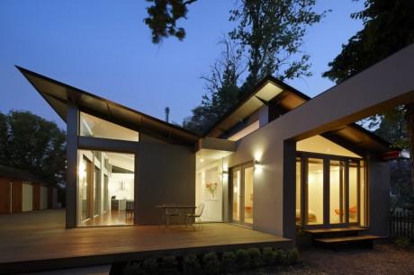 Дом в Кинетоне (Kyneton house) в Австралии от Marcus O'Reilly Architects.