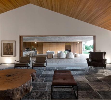 Интерьер современного минималистского дома