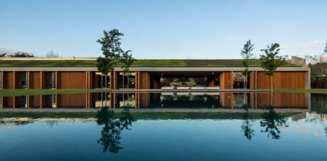 Проект современного частного дома в Бразилии