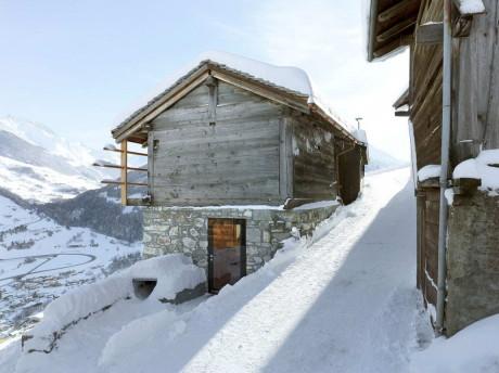 Горный дом в Швейцарии