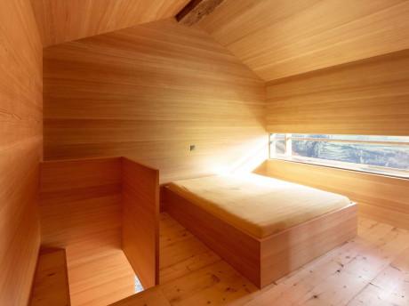 Уникальный деревянный интерьер