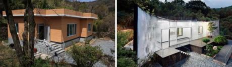 Реконструкция загородного дома в Корее
