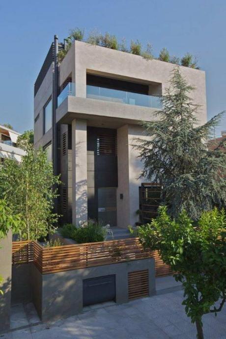 Проект модернистского дома в Греции