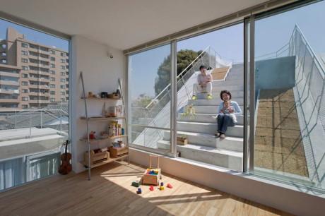 Многоквартирный городской дом в Японии