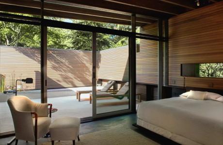 Проект деревянного одноэтажного дачного дома