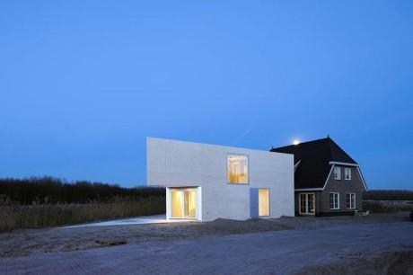 Проект треугольного дома в Голландии