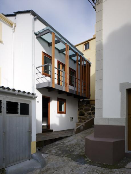 Дом в Баресе (Vivienda en Bares) в Испании от Marcos ?lvarez Montes.