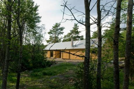 Проект дома-сарая в Швеции
