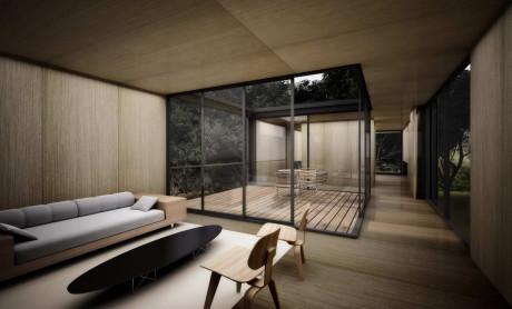 Проект современного дома в Бразилии