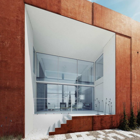 Проект современного загородного дома в Польше