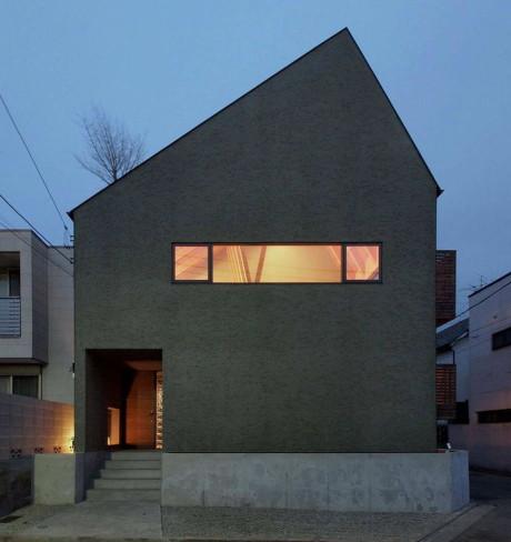 Дом Фукусава (Fukasawa House) в Японии от MDS.