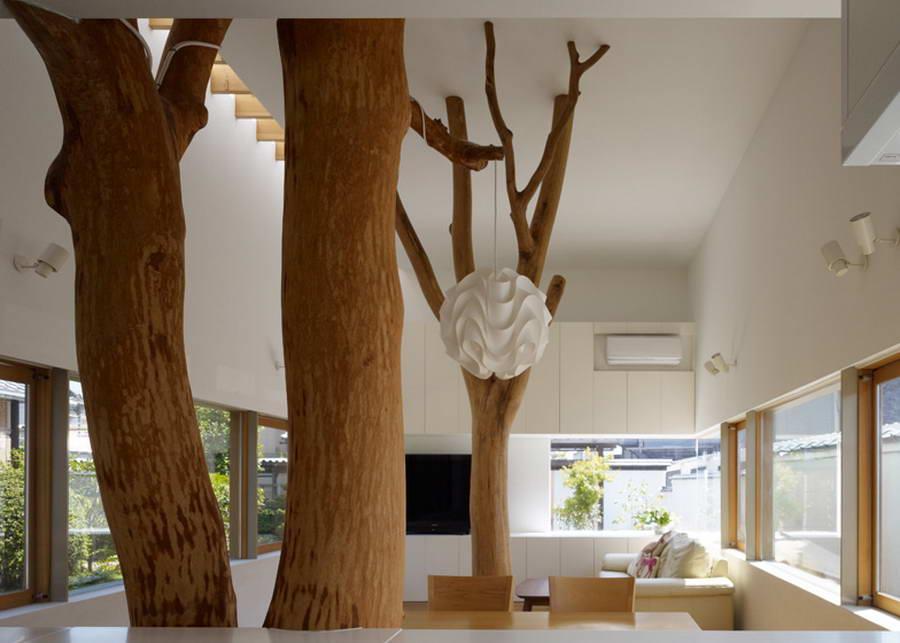 Дерево в домашний интерьер